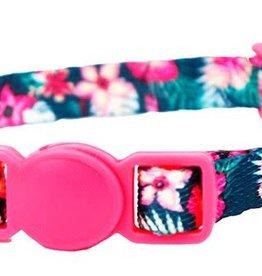 Lil Pals Li'l Pals Adjustable Breakaway Kitten Collar - Hunter Tropical 5/16x6-8in