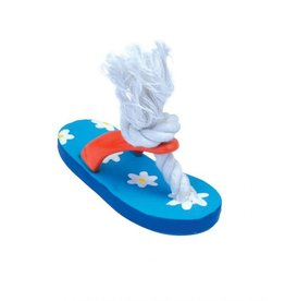 Lil Pals Li'l Pals Latex and Rope Flower Flip Flop 5in
