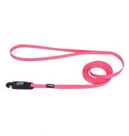 Lil Pals Li'l Pals Dog Leash with EZ Snap - Neon Pink 5/16inx6ft