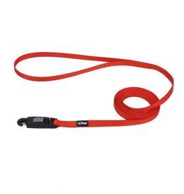 Lil Pals Li'l Pals Dog Leash with EZ Snap - Red 5/16inx6ft