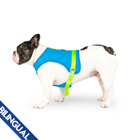 Canada Pooch Canada Pooch Chill Seeker Cooling Harness Blue - Size 10