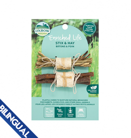 Oxbow Oxbow Enriched Life Stix & Hay