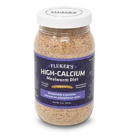 Fluker's Flukers High-Calcium Mealworm Diet 12oz