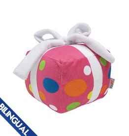 Foufou FouFou Plush Birthday Present Dog Toy - Pink