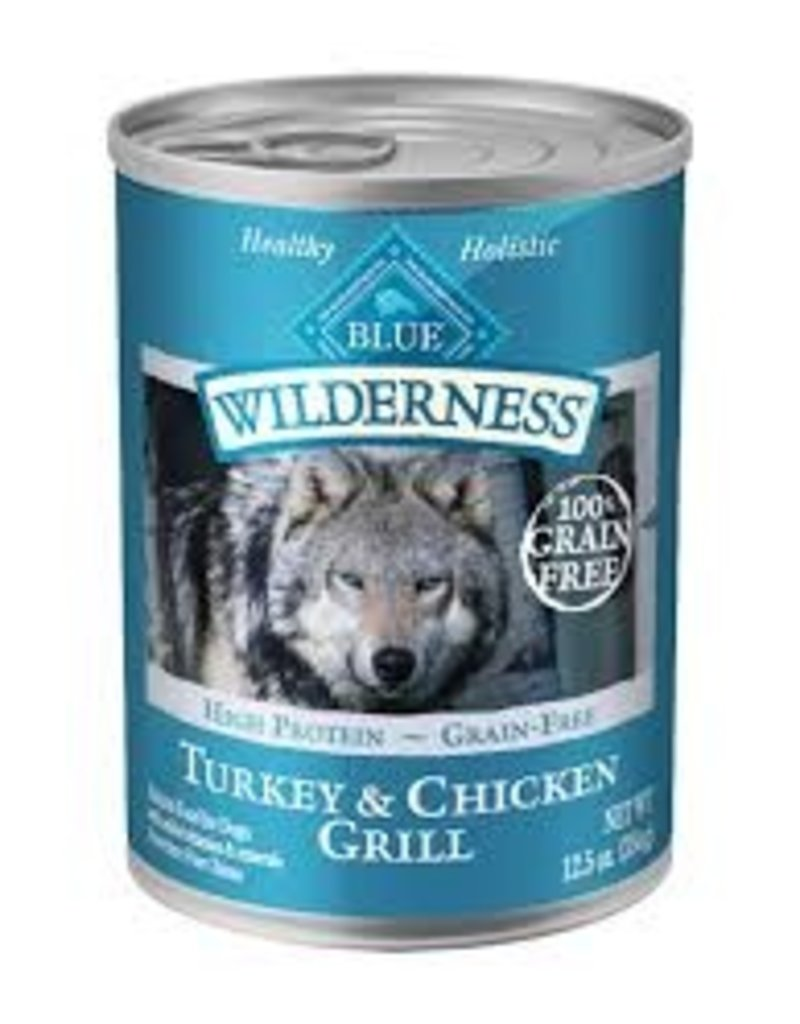 Blue Buffalo Blue Buffalo Wilderness Dog Turkey & Chicken Grill 12.5oz