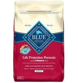 Blue Buffalo Blue Adult Dog Fish & Brown Rice Recipe 30lbs