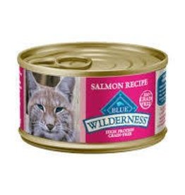 Blue Buffalo Blue Buffalo Wilderness Adult Cat Canned Salmon Recipe 3oz (85g)