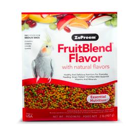 Zupreem ZuPreem FruitBlend Flavor for Medium/Large Birds 2lbs