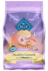 Blue Buffalo BLUE BUFFALO Healthy Growth Kitten Chicken & Brown Rice Recipe 3lbs (1.36kg)