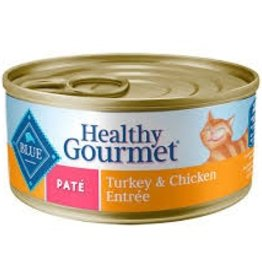 Blue Buffalo BLUE BUFFALO Healthy Gourmet Pate Turkey & Chicken Entree 5oz (156g)