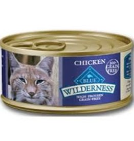 Blue Buffalo Blue Buffalo Wilderness Adult Cat Canned Chicken Recipe 5oz (156g)