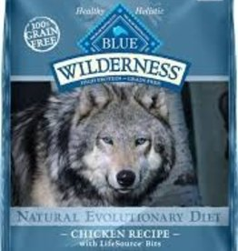 Blue Buffalo Blue Buffalo Wilderness Adult Diet Chicken Recipe 24lb (10.9kg)