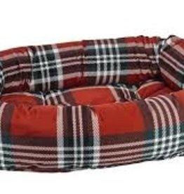 bowsers Donut bed royal troon tartan SMALL