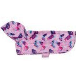 RC Pets RC Pets Packable Rain Poncho Butterflies XXS