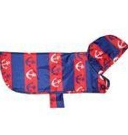 RC Pets RC Pets Packable Rain Poncho Nautical L