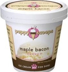 puppy cake Puppy Scoops Maple Bacon Flavor Icecream