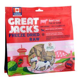 Great Jack's Great Jack's Freeze Dried Raw Treats - Beef Liver - 14 oz