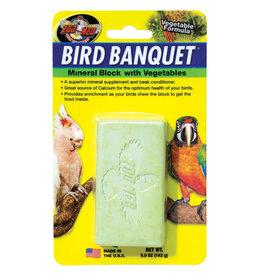 Zoo Med Zoo Med Bird Banquet Mineral Block - Vegetable Formula - 5 oz