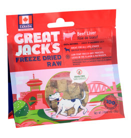 Great Jack's Great Jack's Freeze Dried Raw Treats - Beef Liver - 1 oz
