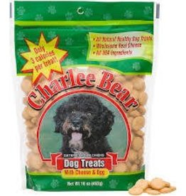 charlie bear Charlee Bear Cheese and Egg Dog Treats 16oz