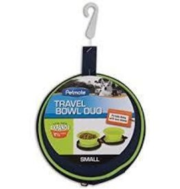 Pet Mate Pet Mate Silicone Travel Bowl Duo