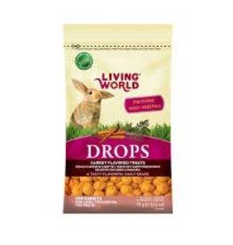 Living World Drops Rabbit - Carrot Flavour