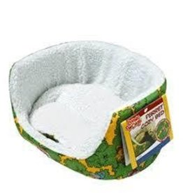 living world ferret cozy bed - green