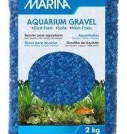 Marina Marina Blue Decorative Aquarium Gravel - 2 kg (4.4 lb)