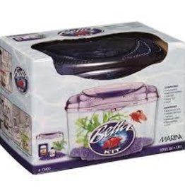 Marina Marina Plastic Betta Kit - Purple