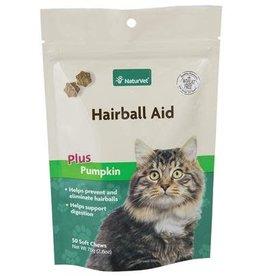NaturVet Naturvet Hairball Pumpkin Cat Soft Chew 50ct