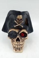 """Aqua-Fit Aqua-Fit Polyresin Pirate Skull 5""""x4.75""""x4.75"""""""