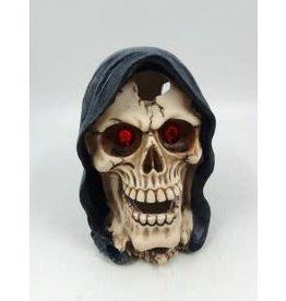 """Aqua-Fit Aqua-Fit Polyresin Reaper Skull 5.5""""x4.75""""x6"""""""