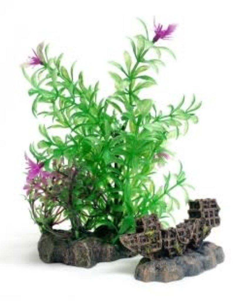 Aqua-Fit Aqua-Fit Shipwreck with Plants