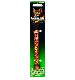 Burgham Snag Free Break Away Collar - Leopard