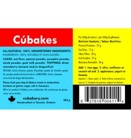 Cu Bakery Big Country Raw Cu Bakery Cúbakes - Dog Cake Baking Kit 263g
