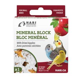 hari Hari Mineral Block for Small Birds - Dried Apple - 40 g