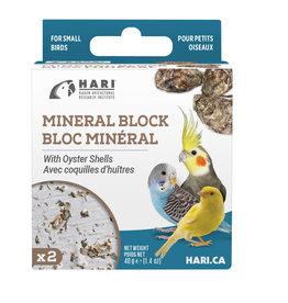 hari Hari Mineral Block for Small Birds - Oyster Shells - 40 g