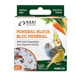 hari Hari Mineral Block for Small Birds - Dried Vegetables - 40 g