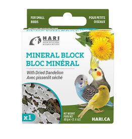 hari Hari Mineral Block for Small Birds - Dried Dandelion - 40 g