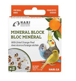 hari Hari Mineral Block for Small Birds - Dried Orange Peel - 35 g
