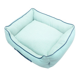 Resploot Resploot Sofa Bed - Rectangular - Teal Snakeskin - 24in x 20in x 8in