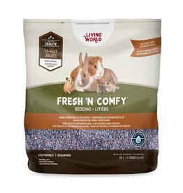 Living World Fresh 'N Comfy Small Animal Bedding 50L - Confetti