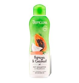 TropiClean TropiClean Papaya and Coconut Shampoo 20oz