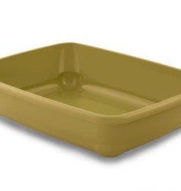Bergamo Cat Litter Pan Birba Mustard Medium