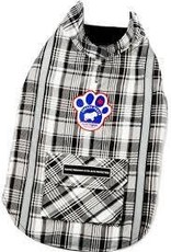 Canada Pooch Amazon Adventurer- Black Plaid 10