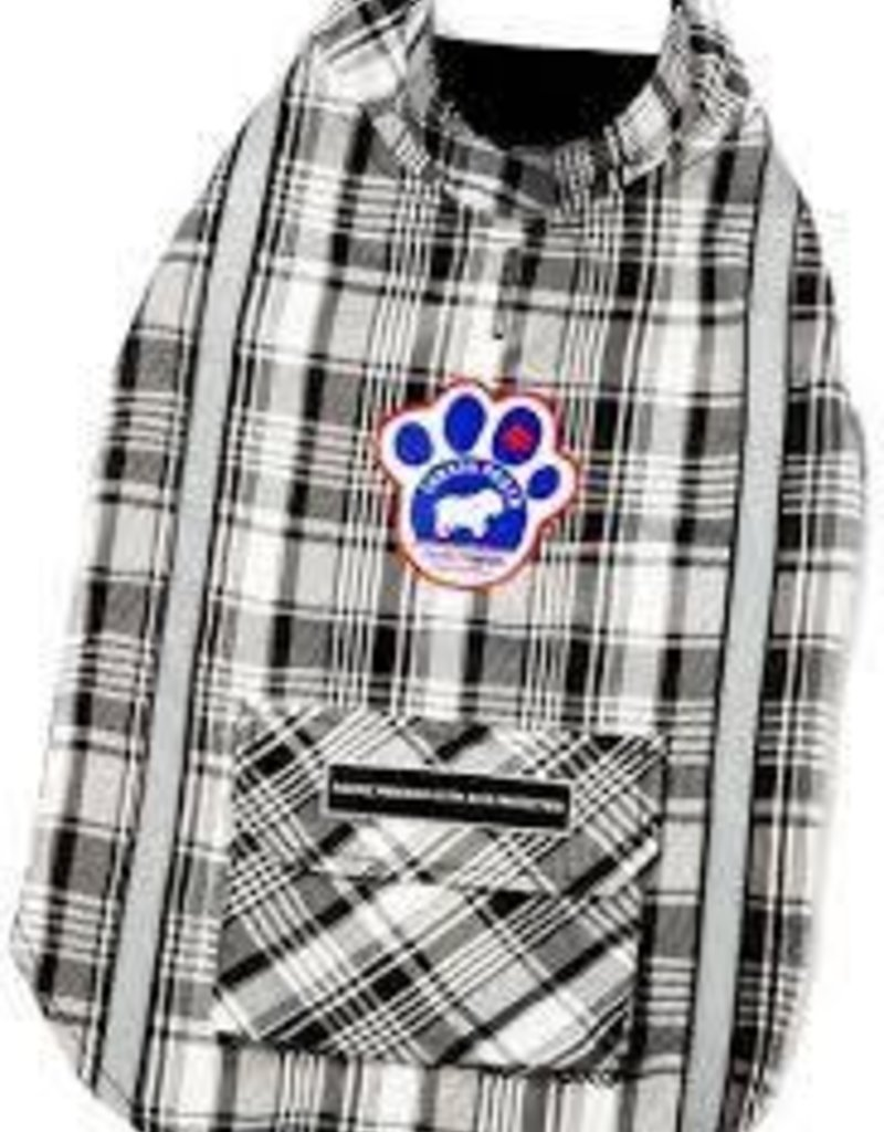 Canada Pooch Amazon Adventurer- Black Plaid 12