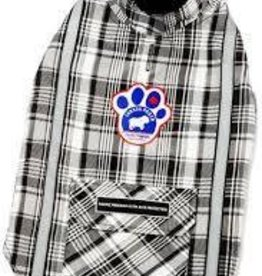 Canada Pooch Amazon Adventurer- Black Plaid 16