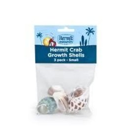 Fluker's Flukers Hermit Crab Growth Shell Small 3pk
