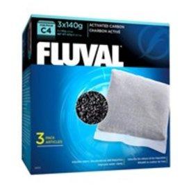 Fluval C4 Carbon 3 x 140g