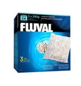 Fluval Fluval C4 Ammonia Remover 3 x 290g